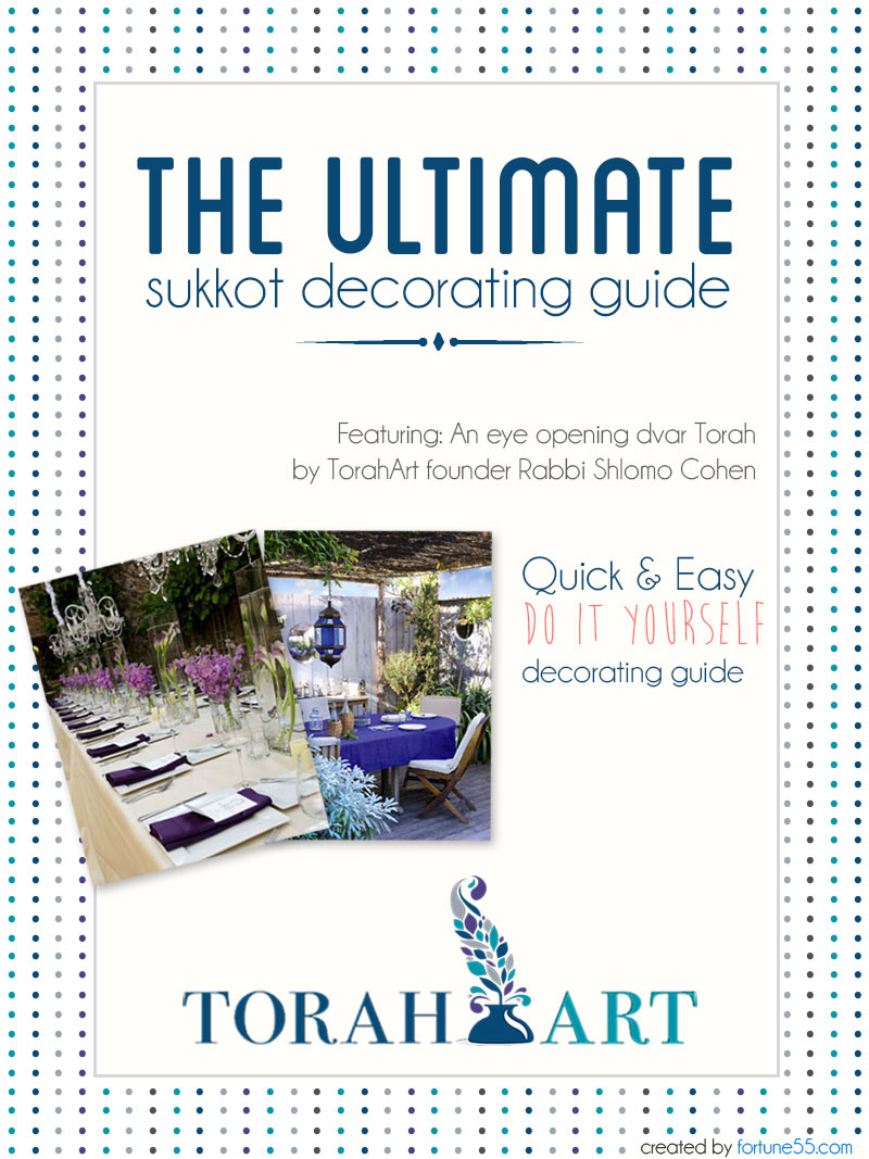 Torah Art Sukkot 2014 Decorating Guide - Page 1