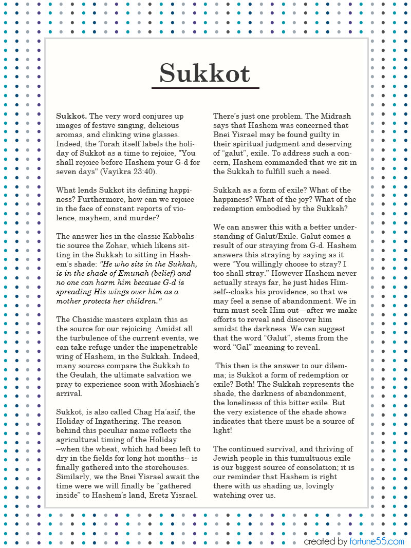 Torah Art Sukkot 2014 Decorating Guide - Page 9