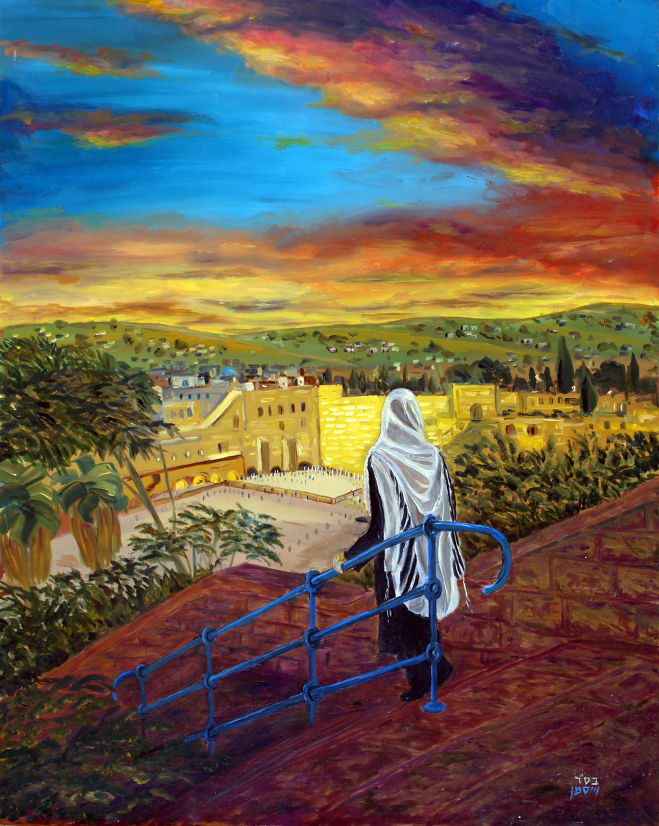 Western Wall Art | Kotel Sunrise | Jerusalem, Israel | Torah Art Gallery